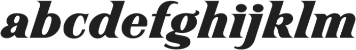 Magnate Regular otf (400) Font LOWERCASE
