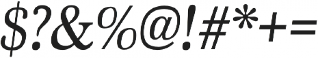 Marion Italic otf (400) Font OTHER CHARS