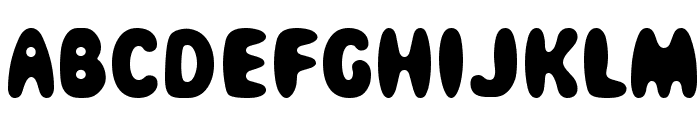 Magical Mystery Tour Font UPPERCASE