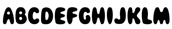 Magical Mystery Tour Font LOWERCASE