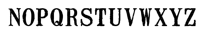 Mailart Rubberstamp Font LOWERCASE