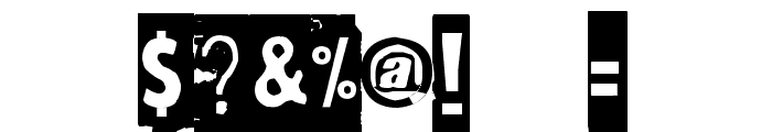 Maksukehoitus Font OTHER CHARS