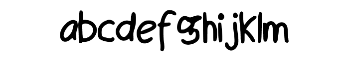 Maly_s_Best_Handwriting Font LOWERCASE