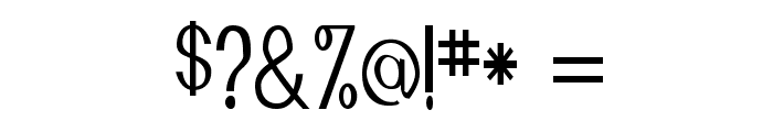 Manta Font OTHER CHARS