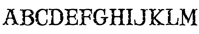 Mary Jane Meade Font UPPERCASE