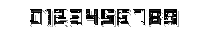 Maze Bold Font OTHER CHARS