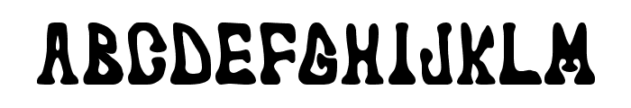 marked fool Font LOWERCASE
