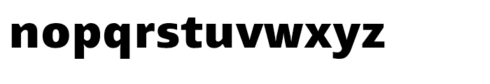 Mayberry WGL Black Font LOWERCASE