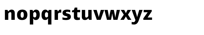 Mayberry WGL Extrabold Font LOWERCASE