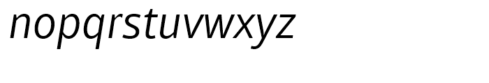 Mayberry WGL Italic Font LOWERCASE