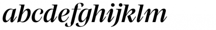 Mackay Medium Italic Font LOWERCASE