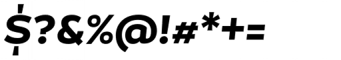 Magallanes ExtraBold Italic Font OTHER CHARS