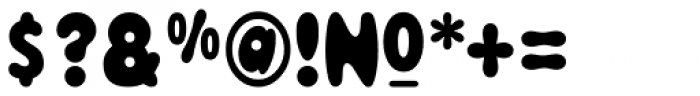 Magical Mystery Tour Font OTHER CHARS