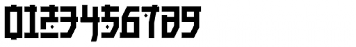 Manganese Solid Font OTHER CHARS