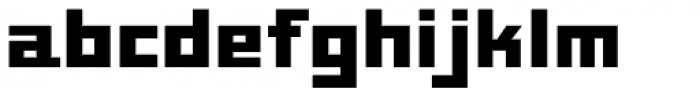 Mayak Extended Bold Font LOWERCASE