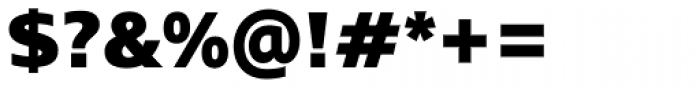 Mayberry Pro Black Font OTHER CHARS