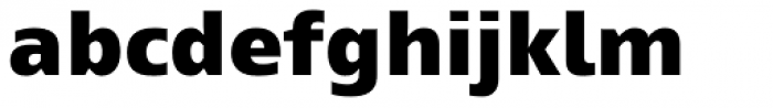 Mayberry Pro Black Font LOWERCASE