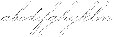 Mercy Two Thin otf (100) Font LOWERCASE