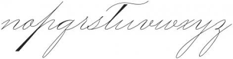 Mercy Two otf (400) Font LOWERCASE