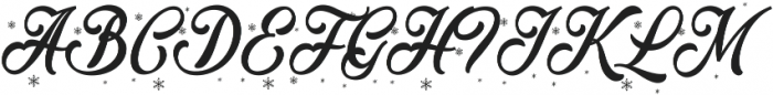 Merry Christmas Color ttf (400) Font UPPERCASE