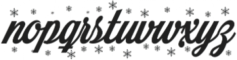 Merry Christmas Color ttf (400) Font LOWERCASE