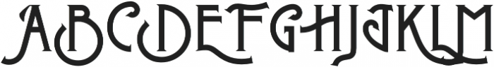 Metrobrew Regular otf (400) Font UPPERCASE