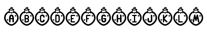 Merry Xmas St Font LOWERCASE