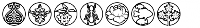 Medallion Ornaments Font OTHER CHARS