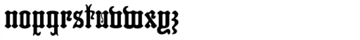 MFC Hills Medieval Font LOWERCASE