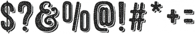 Microbrew Unicase Two 3D otf (400) Font OTHER CHARS