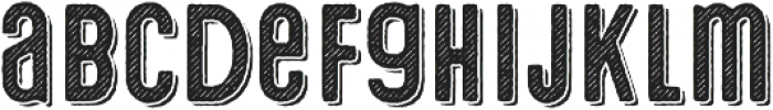 Microbrew Unicase Two 3D otf (400) Font LOWERCASE