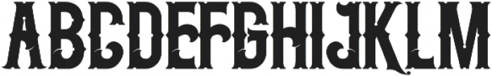 Midnight Show otf (400) Font LOWERCASE