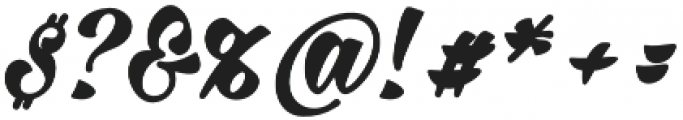 Milasian Bold otf (700) Font OTHER CHARS