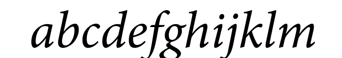 Mignon-It Font LOWERCASE