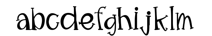 MimsyWhimsy Font LOWERCASE