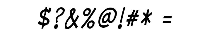 MinyaNouvelle-Italic Font OTHER CHARS