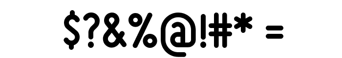 Miso-Bold Font OTHER CHARS