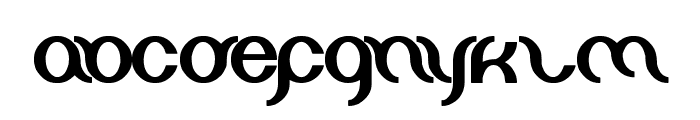 miracle Font LOWERCASE