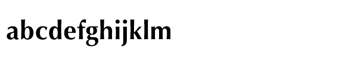 Mitra Bold Font LOWERCASE