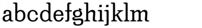 Minernil Regular Font LOWERCASE