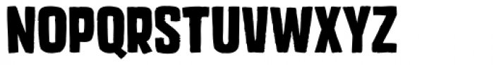Mixed Breed Bold Font UPPERCASE