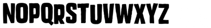 Mixed Breed Bold Font LOWERCASE