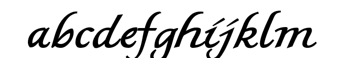 MKBritishWriting Font LOWERCASE