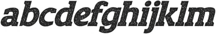 Moon Figther Slant Rough otf (400) Font LOWERCASE