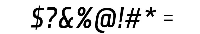 Monitorica Bold Italic Font OTHER CHARS