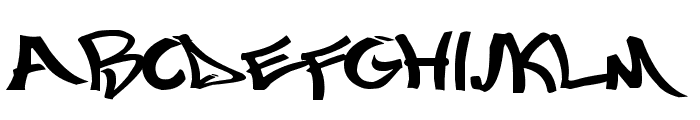 Mostwasted Font UPPERCASE