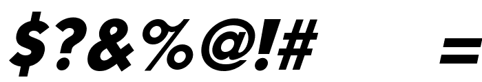 Mouser Italic Font OTHER CHARS