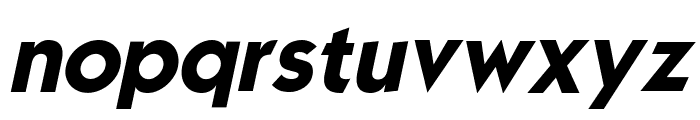 Mouser Italic Font LOWERCASE