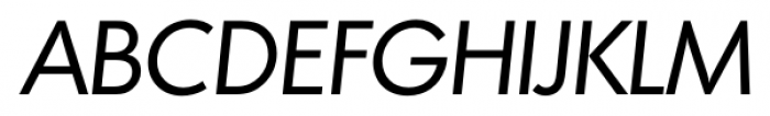 Montreal Serial Italic Font UPPERCASE