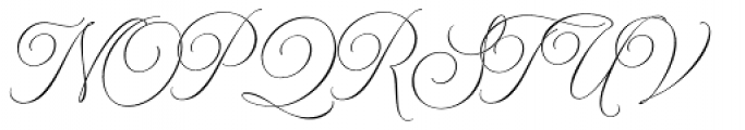 Model Small Standard One Font UPPERCASE